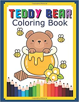 Drawing and Coloring Teddy Bear | Coloring pages for Kids ... | 335x260
