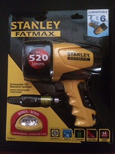 Stanley Waterproof Rechargeable Spotlight Headlamp