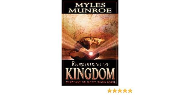 Rediscovering the kingdom ebook myles munroe amazon kindle store fandeluxe Images