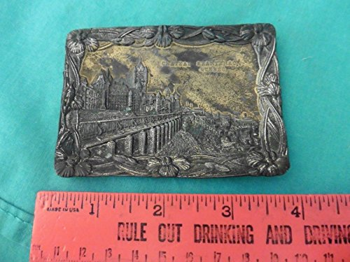 vintage Chateau Frantenac Quebec dish made in Japan ash tray soap plate - Ashtray Japan