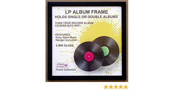 Amazon.com: LP Album Frame with Glass Front: Arts, Crafts & Sewing