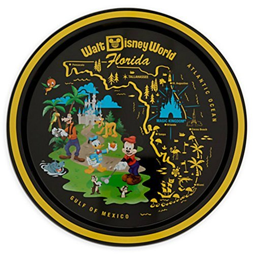 Mickey Mouse Donald Duck & Goofy Serving Tray - Walt Disney World by Disney