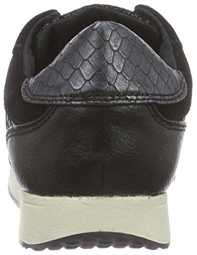 Mehrfarbig 052 Femme Basses blk 23602 Sneakers blk Multicolore Tamaris Struct q1STXwxC