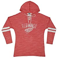 NHL DETROIT RED WINGS Womens Athletic Warm Hoodie (Vintage Look)