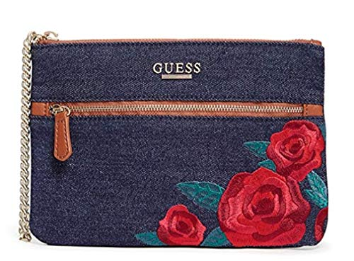 GUESS Factory Women's Neena Embroidered Wristlet