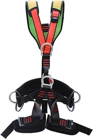 ZBHW Escalada Cuerpo Completo Arnés para el Cuerpo Cinturón ...