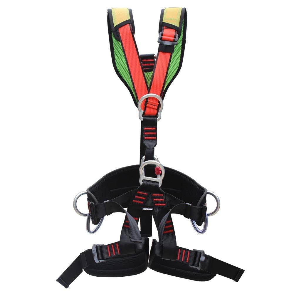 MUTANG 全身安全ベルトロッククライミング急ぐ防火シートベルト空中作業電気安全ベルト取り外し可能なベルト