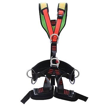 ZBHW Escalada Cuerpo Completo Arnés para el Cuerpo Cinturón de ...