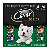 CESAR Classics Adult Wet Dog Food Variety Pack – Poultry 3.5 oz. (Pack of 24) (1) For Sale