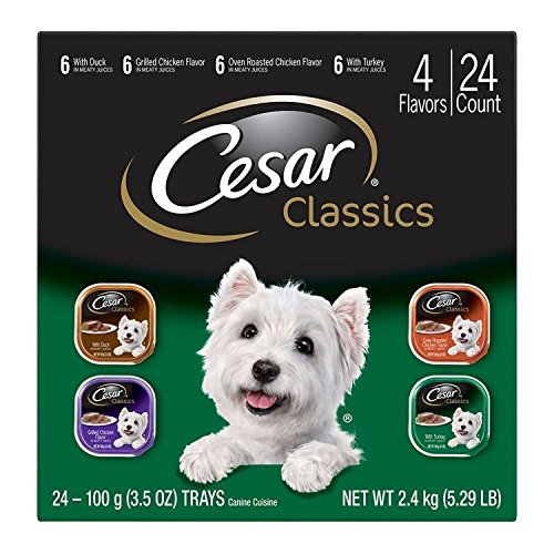 CESAR Classics Adult Wet Dog Food Variety Pack - Poultry 3.5 oz. (Pack...