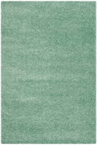 American Brights Aqua Teal 8 x 10 Area Rugs