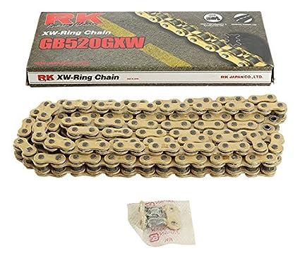 Amazoncom New Rk Gb520gxw Chain 120 Link For Honda Cb 250