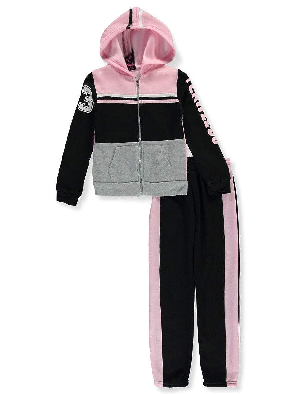 Chillipop Girls Flawless 2-Piece Sweatsuit Pants Set