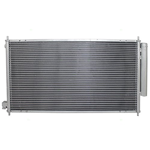 Acura Tsx Condenser - AC A/C Condenser Cooling Assembly Replacement for 04-08 Acura TSX - 80110SEA013