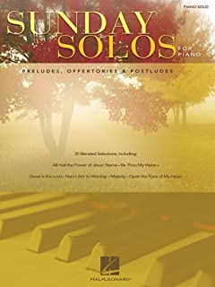 Sunday Solos For Piano: Preludes, Offertories U0026 Postludes Part 61