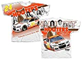 Chase Elliott 2017 Hooters Total Print NASCAR T-Shirt (XLarge)
