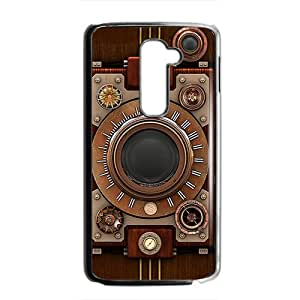 2015 Bestselling Steampunk Band Phone Case for LG G2 BLACK