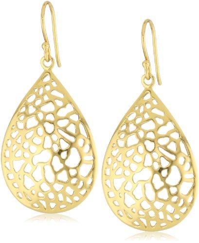 Argento Vivo 18k Gold-Plated Sterling Silver Drop Earrings