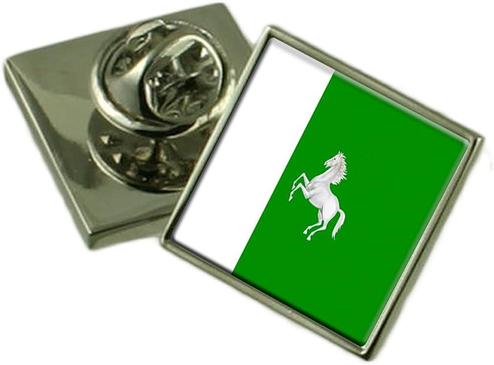 Flag Lapel Pin Badge Russia Tomsk