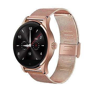 LLLS SmartWatch, Relojes Inteligentes para los Hombres para Las Mujeres, Smart Watch Tracker Bluetooth Reloj Deportivo podómetro para Android iOS se ...
