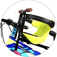 Front Mounted Child Bike Seats, Child Bike Seat with Durable Seat Belt Adjusting Buckle, Kids' Bicycle Car