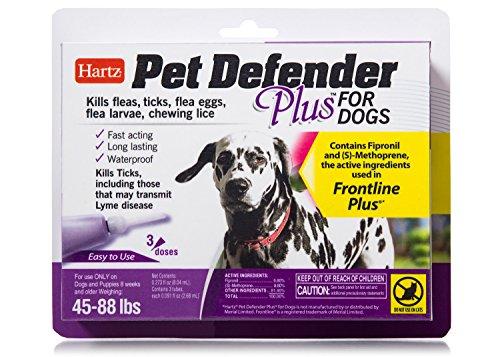 Hartz Pet Defender Plus Topical Flea & Tick Prevention for D