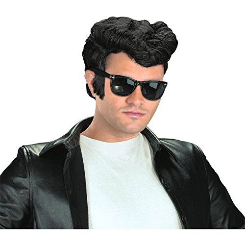 Adult 1950s Greaser Wig -