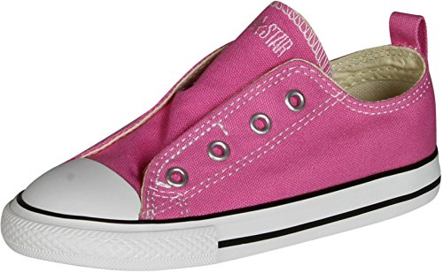 Converse Girls 726078F Simple Slip Fashion Sneakers,Pink,6