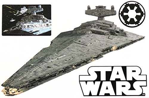 "FATHEAD Star Destroyer Mini Graphic Star Wars Logo Set Official Licensed Vinyl Wall Graphics 7"" INCH"