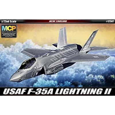 Academy USAF F-35A Lightning II Model Kit: Toys & Games