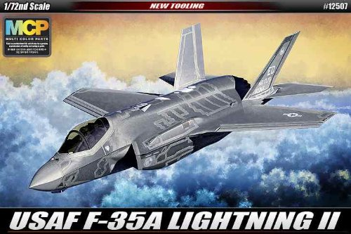 - Academy USAF F-35A Lightning II Model Kit