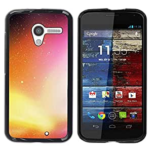 Be Good Phone Accessory // Dura Cáscara cubierta Protectora Caso Carcasa Funda de Protección para Motorola Moto X 1 1st GEN I XT1058 XT1053 XT1052 XT1056 XT1060 XT1055 // Neon Galax