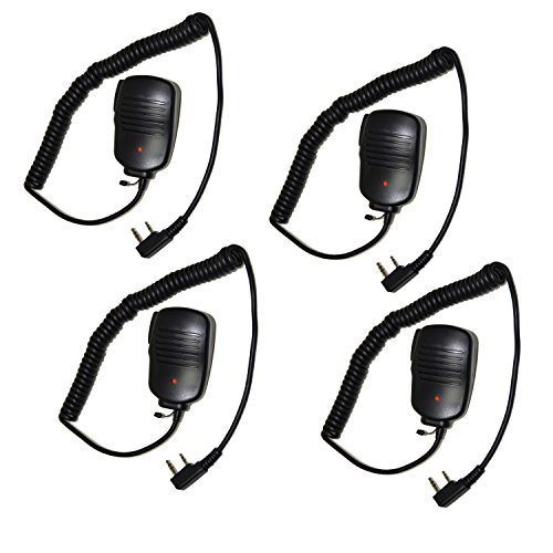 T Mini Speaker Mic for Kenwood TK-2212, TK-2212K, TK-2302, TK-2312 + HQRP UV Meter ()