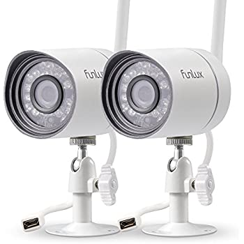 Amazon com : Funlux sPOE 720P HD Weatherproof IP Network Bullet