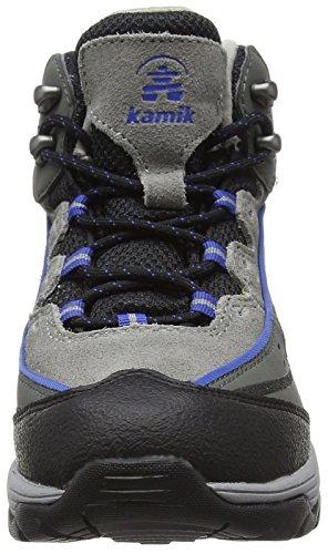 Kamik LION2G - Botas de Senderismo de Cuero Niños^Niñas azul - Blau (ROYALBLU/ROY)