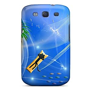 New Style XXcases Cat Kittycat Beach Premium Tpu Cover Case For Galaxy S3