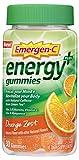 #10: Emergen-C Energy+ (30 Count, Orange Zest Flavor) Energy Dietary Supplement Gummies with Natural Caffeine from Green Tea, 3 B Vitamins, Vitamin C for Men & Women