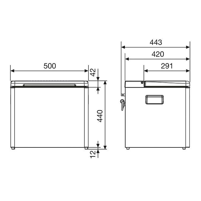 Dometic CombiCool RC 1600 EGP, lautlose, elektrische Absorber ...