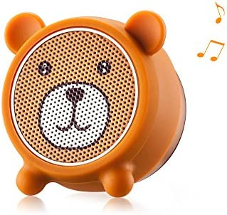 Mini Bluetooth Speaker Aurtec Cute Animal Portable Wireless Outdoor Stereo Audio