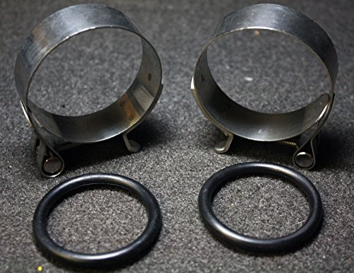 Superior Dixie Distributing 27063-57 Intake Manifold Clamp & O Ring Set Harley Davidson 27063-57 ()
