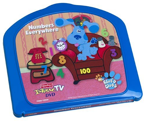 Fisher Price InteracTV Blue's Clues Numbers Everywhere