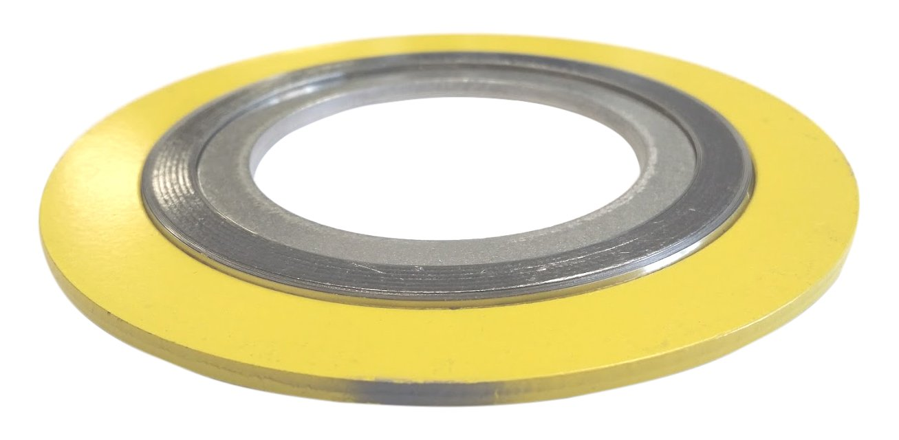 API 601  9000IR1500304GR2500 Spiral Wound Gasket with 304SS Inner Ring Sterling Seal and Supply 1-1//2 Pipe Size x 2500# Class Flange x 304SS//Flexible Graphite 1-1//2 Pipe Size x 2500# Class Flange x 304SS//Flexible Graphite Assigned by Sur-Seal Inc