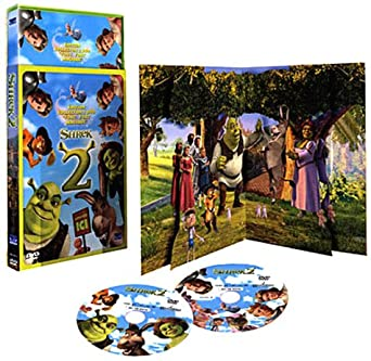 Amazon Com Shrek 2 Edition Collector 2 Dvd Packaging Sonore Avec Pop Up Movies Tv