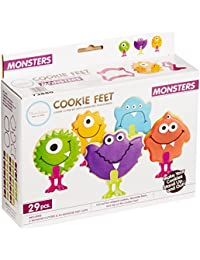 Want Bakelicious Monster Cookie Cutter and Feet Set, Multicolored discount