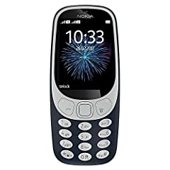 """The new Nokia 3310 takes the iconic silhouette of the original and reimagines it for 2017. The custom designed user interface brings a fresh look to a classic, whilst the 2.4"""" polarized and curved screen window makes for better readability in..."""