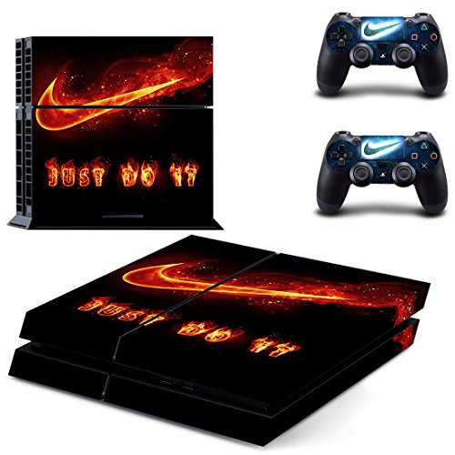 MagicSkin Vinyl Skin Sticker Cover Decal for Playstation PS4 Console and Remote Controllers (C)