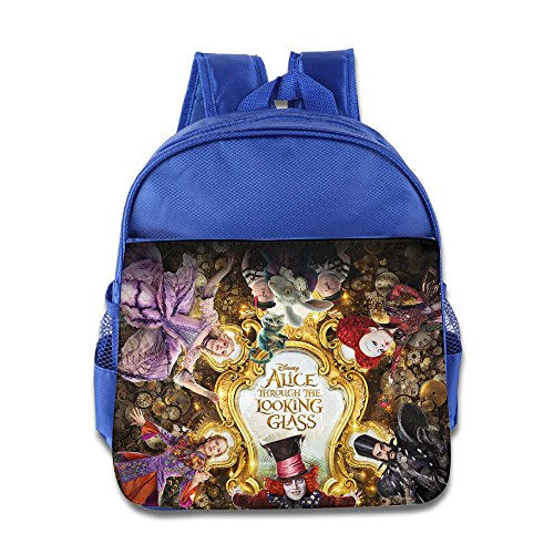 MoMo Unisex Alice Through The Looking Glass Kids Backpacks Bags For Little Kids ()