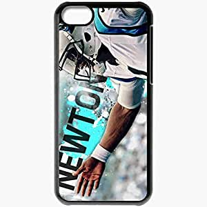 Personalized iPhone 5 5s Cell phone Case/Cover Skin 14275 cam newton nfl week 2 by hawkeyesart d5fdtm0 Black