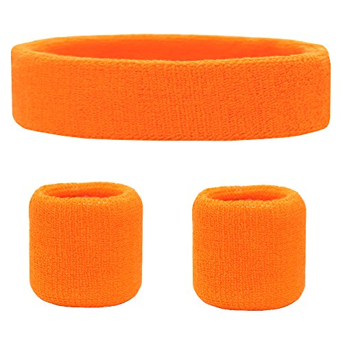 Favofit Sweatband Set Pack Wristbands