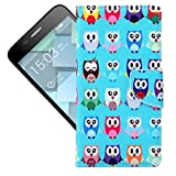 For Alcatel Onetouch Idol 3 (5.5) Case , TUTUWEN Lovely Magnetic Wallet Card Slot PU Leather Flip Stand Protective Slim Case Cover For Alcatel Onetouch Idol 3 (5.5)